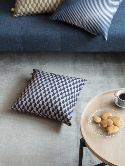 Cushion Dual blue