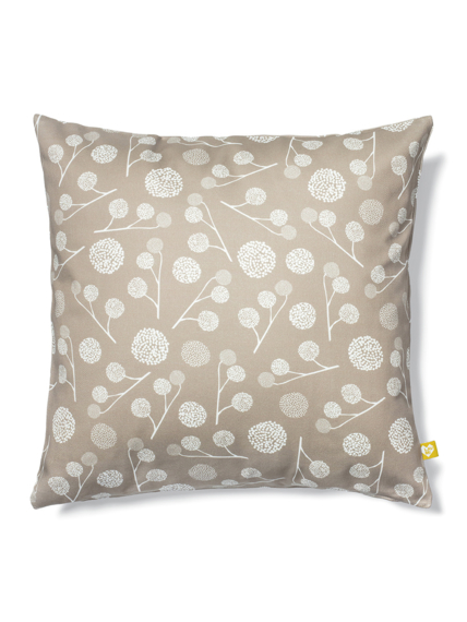 Plane tree taupe cushion