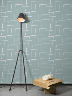 Wallpaper Gap mint grey