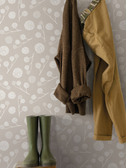 Wallpaper Plane tree taupe