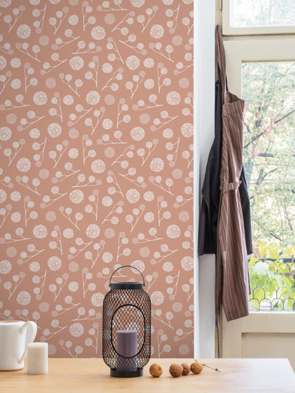 Sample of wallpaper Plane tree coral