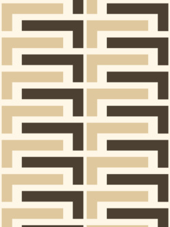 Salon beige wallpaper