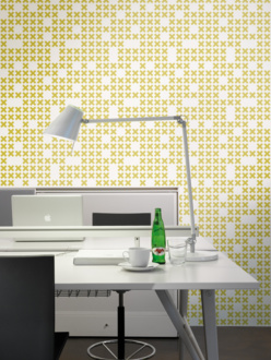 System yellow wallpaper