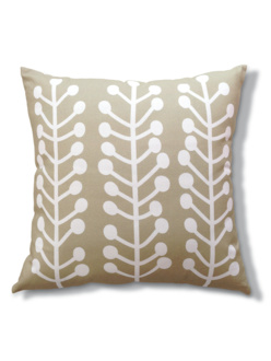 Herbs beige cushion