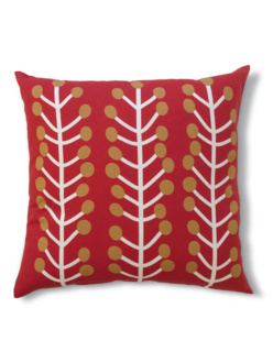 Herbs red cushion