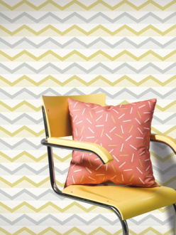 Hills yellow wallpaper