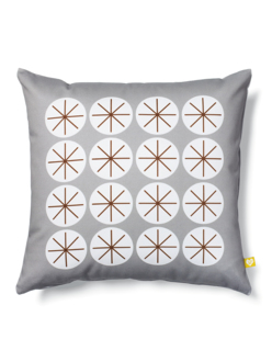 Cushion Stars grey