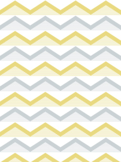 Sample of wallpaper Hills yellow