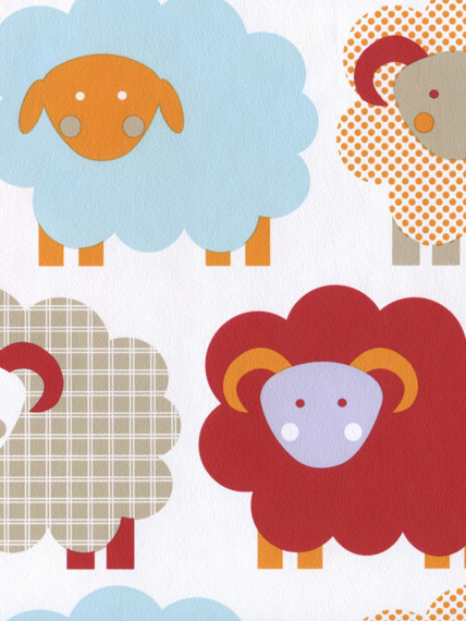 Wallpaper Marketa red