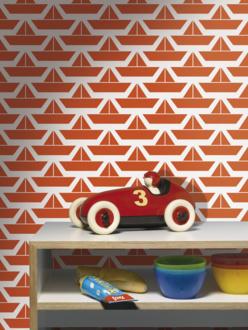 Nieuw in nederland lavmi de oude speelkamer - Stijlvol behang ontwerpen ...