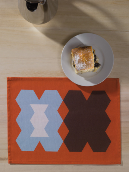 Choco 4x placemat