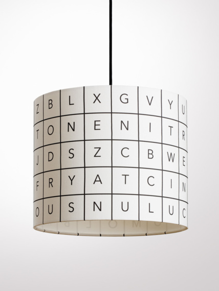 Glyphs lampshade