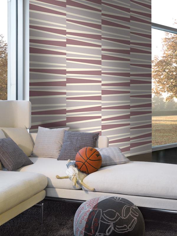 Lounge violet wallpaper ...