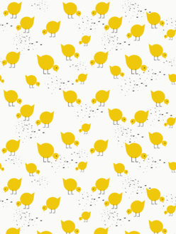 Sample of wallpaper Juli yellow