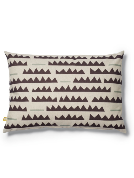 Sticks grey cushion