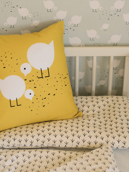 Cushion Juli yellow