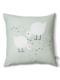 Juli mint cushion