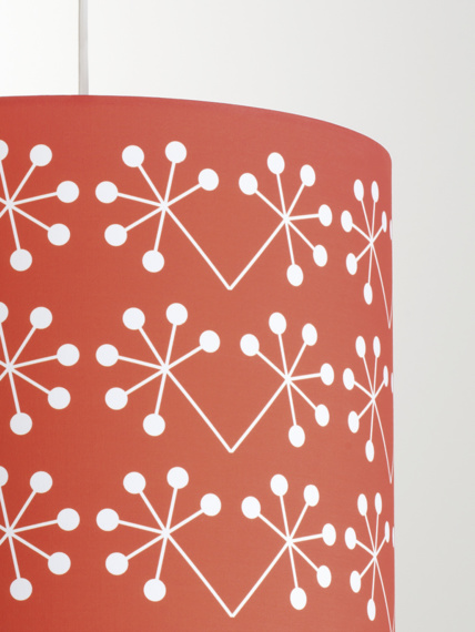 Lampshade Žofka red