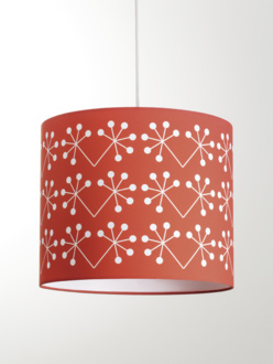 Žofka red lampshade