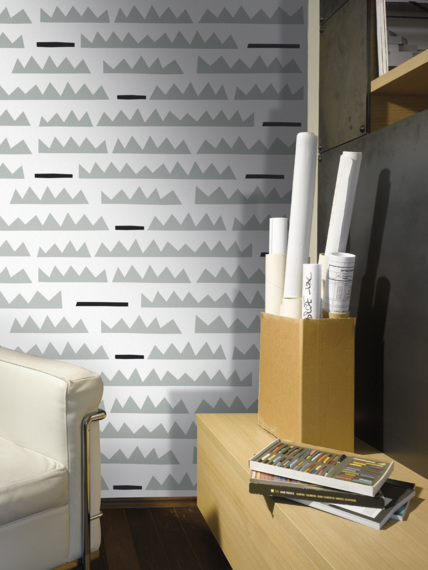 Mural wallpaper Rows