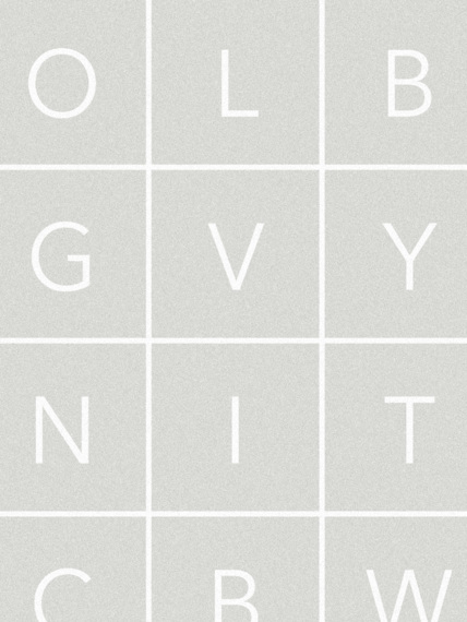 Glyphs grey wallpaper 1 m